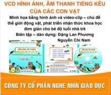 VCD hình ảnh, âm thanh tiếng kêu các con vật