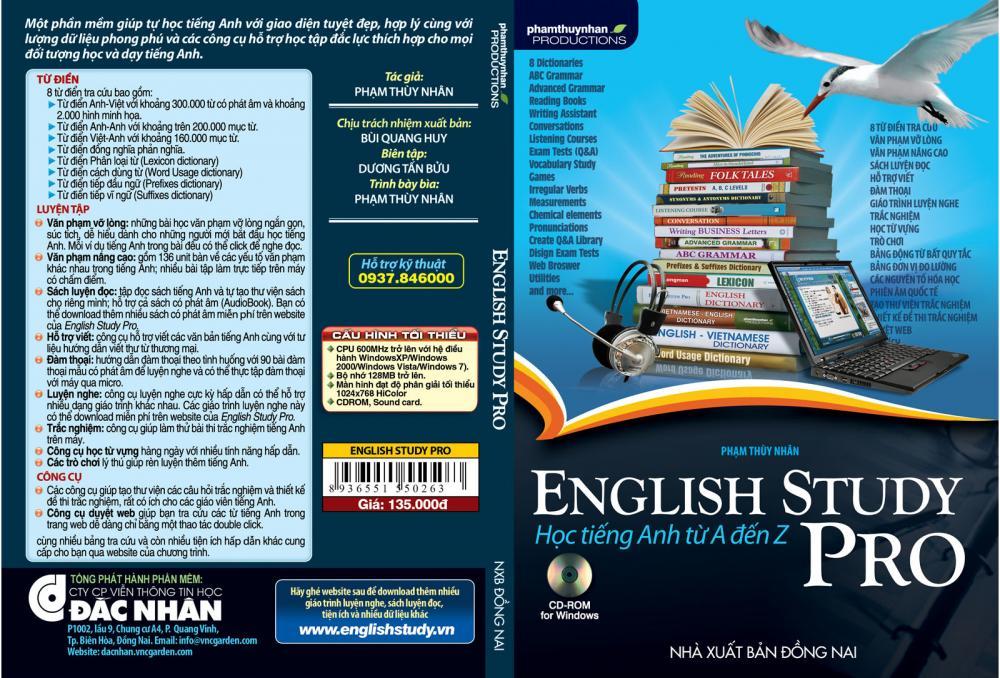 Phần mềm Tiếng Anh English Study Pro