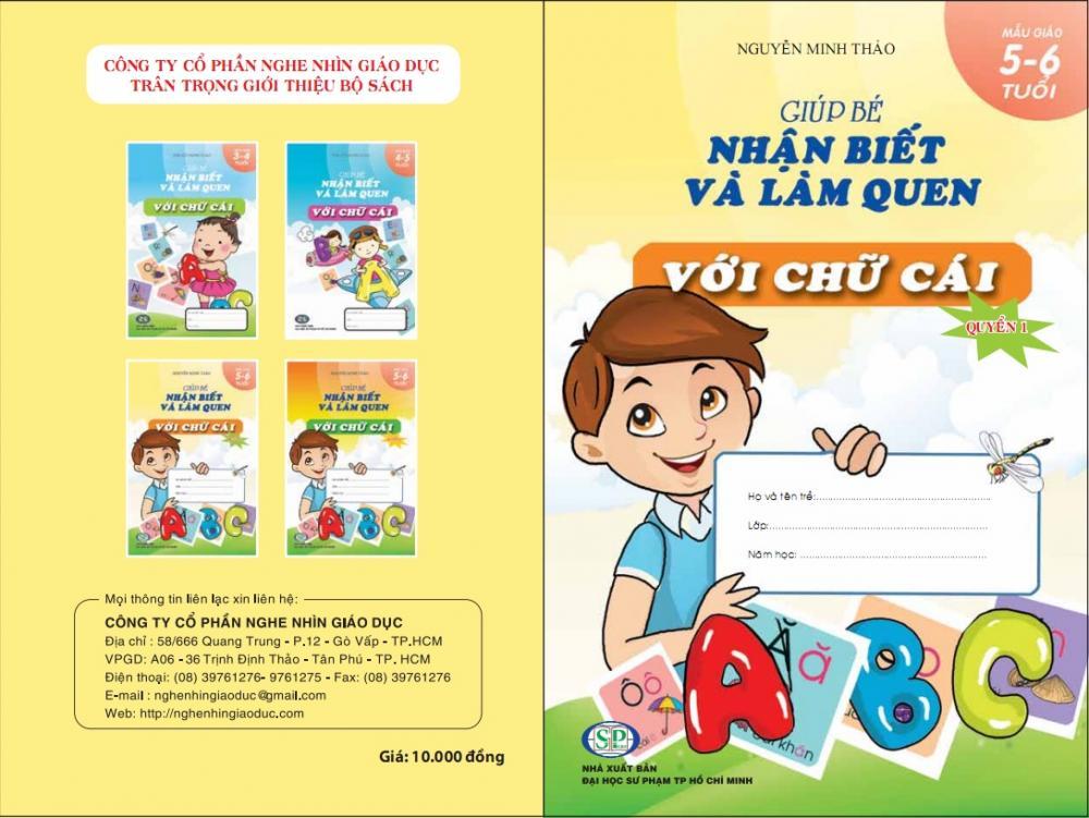 Giúp bé nhận biết và làm quen với chữ cái (Mẫu giáo 5-6 tuổi) Q1