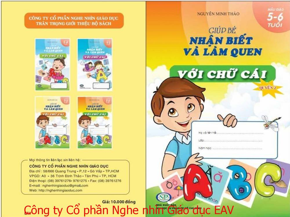 Giúp bé nhận biết và làm quen với chữ cái (Mẫu giáo 5-6 tuổi) Q2