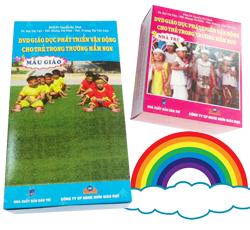 DVD Giáo dục phát triển vận động cho trẻ trong trường mầm non